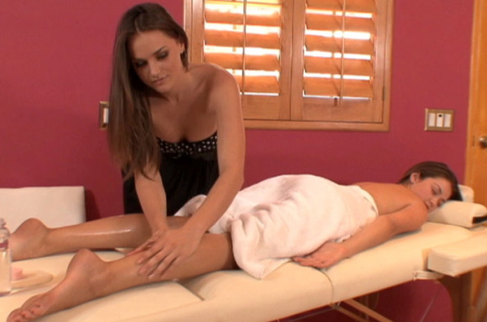 Tori Black and Allie Haze - Pornstar Massages Pornstar!
